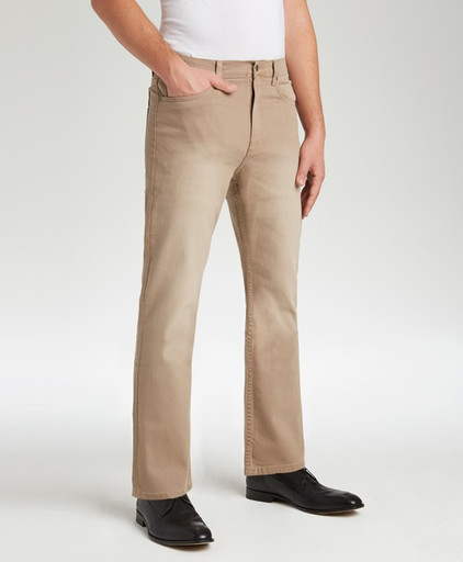 214 Chestnut Stretch Jean, Traditional Fit