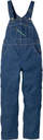 273.43 Rinsed Washed Bib Overall - Zipper Fly