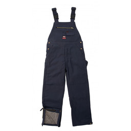 287.40 FR Traditional Insulated Duck Bib Overall, Hip Zip