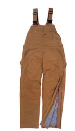 287.21 FR Traditional Insulated Duck Bib Overall, Hip Zip