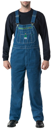 14006SW9 Stonewashed Denim Bib Overall