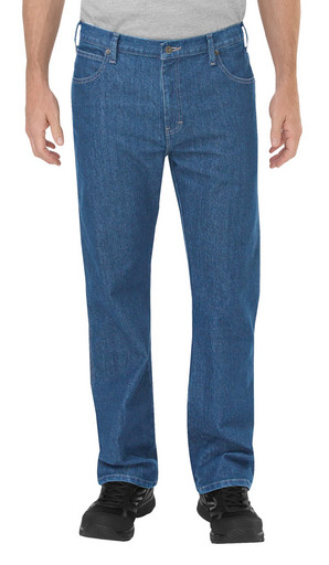 DP805SNB Tough Max Relax Straight Fit 5-Pocket Denim Jean
