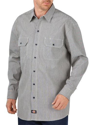 WL381HS Relaxed Fit Button-Front Logger Shirt