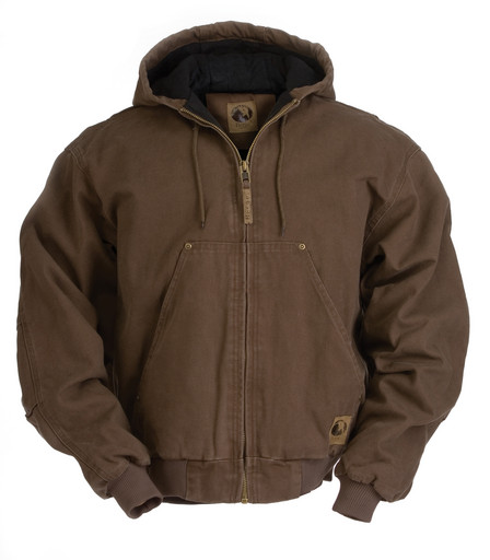 HJ375BB Original Washed Hooded Jacket