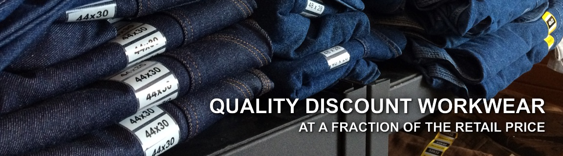 Quality Discount Workwear at a Fraction of the Retail Price